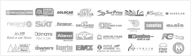 our car rental providers